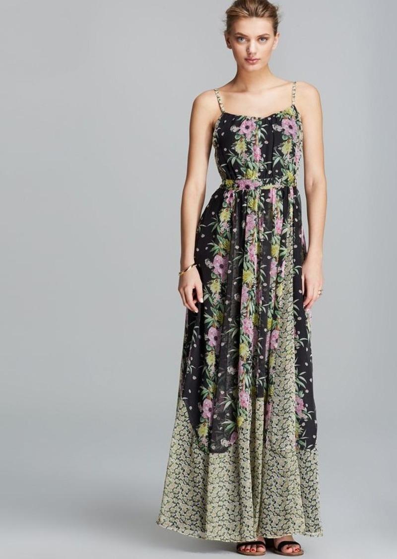 FRENCH CONNECTION Maxi Dress - Desert Tropicana Chiffon