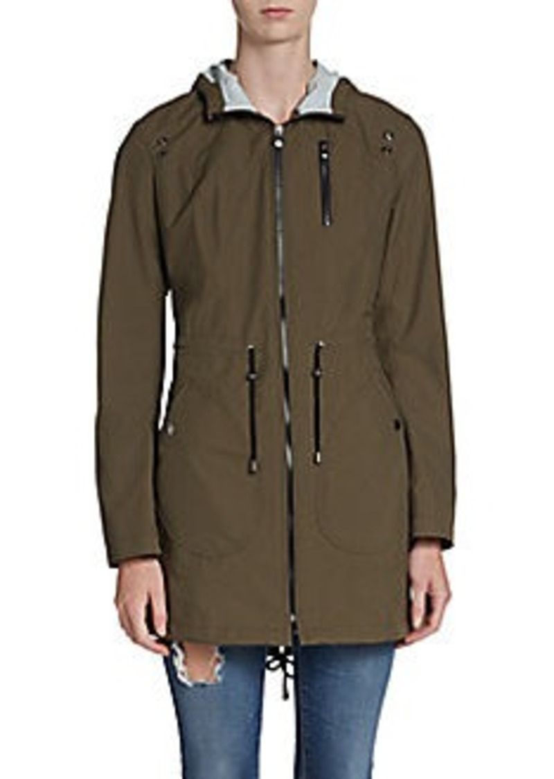 Laundry by Shelli Segal Hooded Nylon Anorak