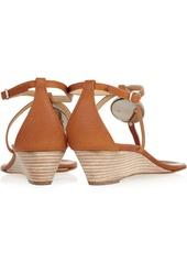 Giuseppe Zanotti Volta wedge leather sandals
