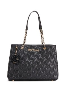 Betsey Johnson Bee Mine Quilted Heart Tote