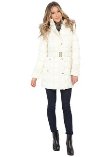 Betsey Johnson Belted Puffer