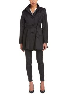 Betsey Johnson Betsey Johnson Belted Trench Coat