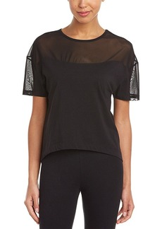 Betsey Johnson Betsey Johnson Mesh Insert T-Shirt