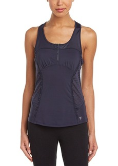 Betsey Johnson Betsey Johnson Zip Front Tank