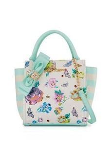 Betsey Johnson Bug A Boo Floral Tote Bag