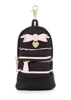 Betsey Johnson Candy Striped Backpack Pencil Case