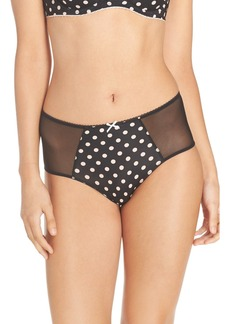Betsey Johnson 'Cutie Booty' High Waist Briefs