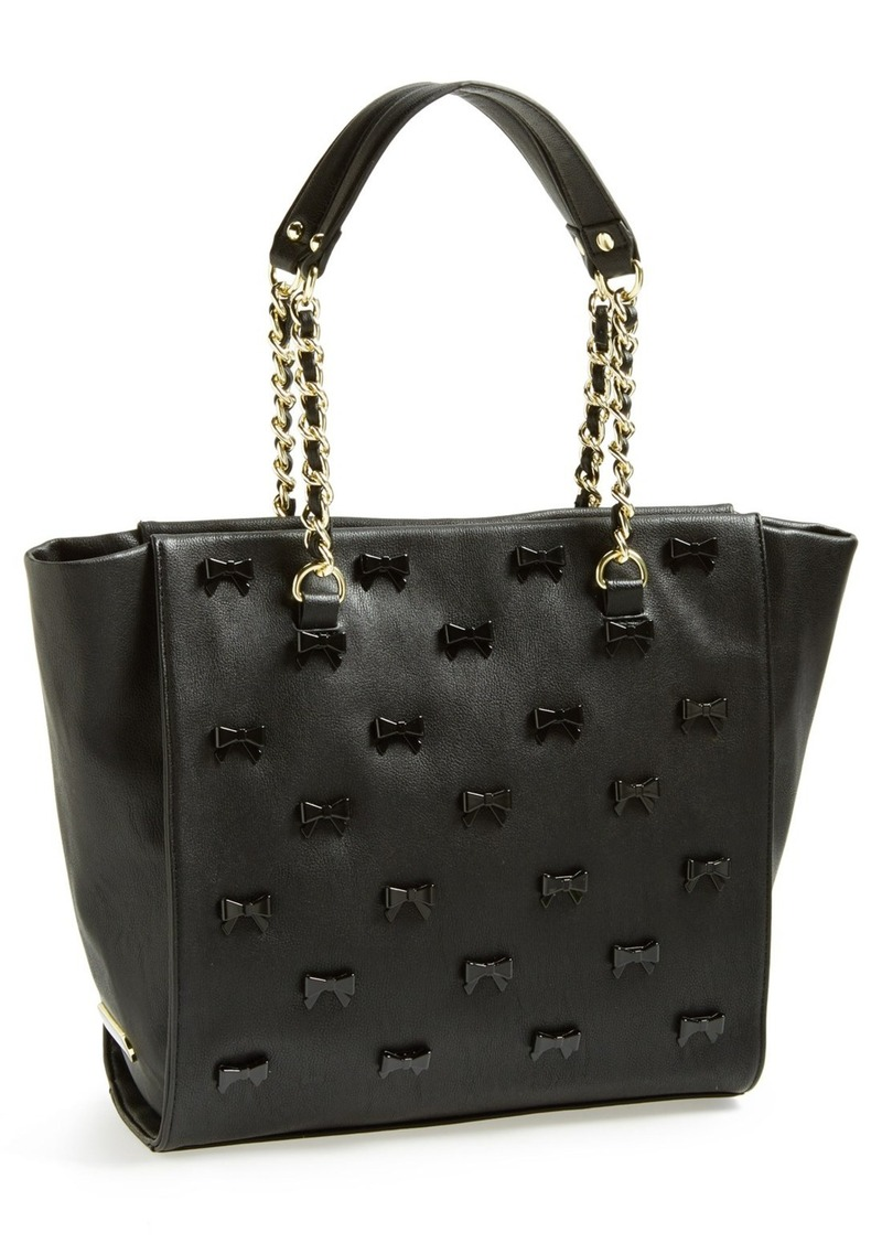 Betsey Johnson Faux Leather Tote