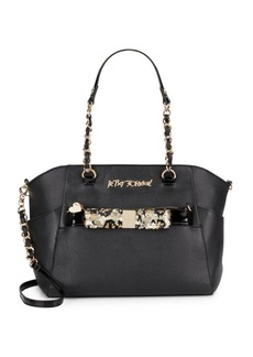 Betsey Johnson Hidden Treasure Sequined Tote