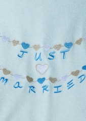 Betsey Johnson 'Just Married' Baby Terry Bridal Robe