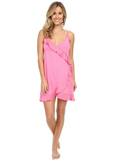 Betsey Johnson Neps Yarn Rayon Knit Slip