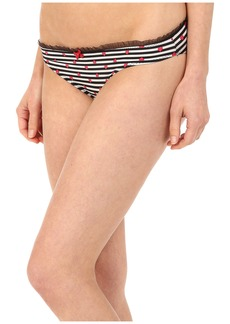 Betsey Johnson Peek-A-Boo Lace