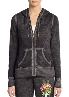 Betsey Johnson Performance Carmen Mira Graphic Hooded Jacket