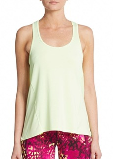 Betsey Johnson Performance Scalloped Racerback Tank