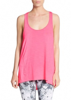 Betsey Johnson Performance Scalloped Scoopneck Tank Top