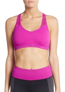 Betsey Johnson Performance Seamless Sports Bra