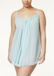Betsey Johnson Plus Size Sheer Babydoll 7321112X