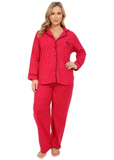 Betsey Johnson Polka Dot Pajama Set
