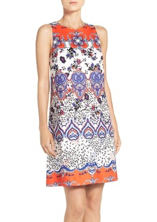 Betsey Johnson Print Scuba Shift Dress
