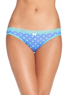 Betsey Johnson Print Thong (3 for $30)