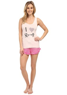 Betsey Johnson Rayon Knit Short Set