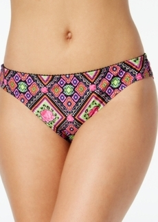 Betsey Johnson Rose-Print Bikini Bottom Women's Swimsuit
