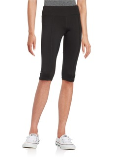 BETSEY JOHNSON Run Wild Capri Leggings