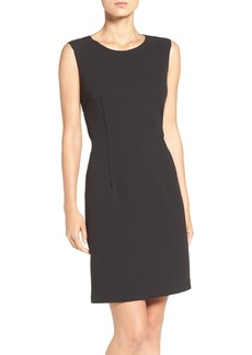 Betsey Johnson Scuba Crepe Sheath Dress