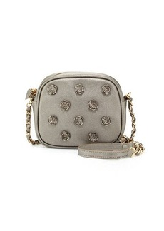 Betsey Johnson Smell The Roses Faux-Leather Crossbody Bag