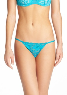 Betsey Johnson 'Starlet' Lace Thong (5 for $35)