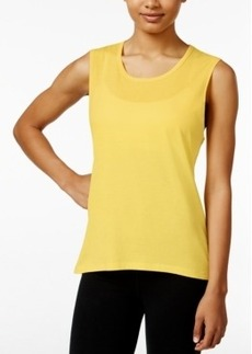 Betsey Johnson Strappy-Back Sleeveless T-Shirt