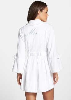 Betsey Johnson Terry Honeymoon Robe