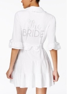"Betsey Johnson ""The Bride"" Terry Robe"