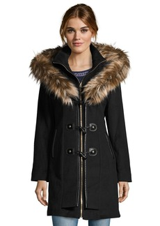 Betsey Johnson TOGGLE FRONT WOOL COAT