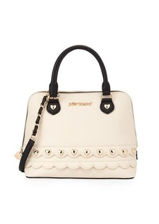 Betsey Johnson Wavy Days Dome Satchel Bag