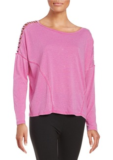 BETSEY JOHNSON Zig-Zag Cutout Top