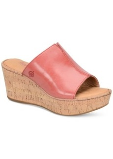 Born Aria Wedge Sandals Women's Shoes