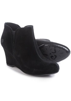 Born Faylan Wedge Boots - Suede (For Women)