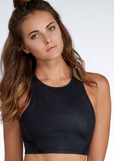 Calvin Klein + Medium Control Shelf Bra Sports Crop Top