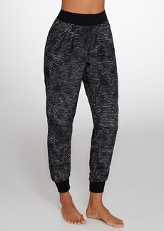 Calvin Klein + Performance Printed Woven Jogger Pants