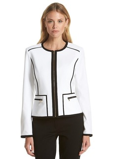 Calvin Klein Black Trim Jacket