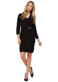 Calvin Klein Cable Knit Sheath Dresss