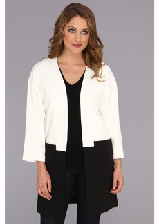 Calvin Klein Colorblock Open Ponte Jacket