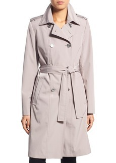 Calvin Klein Double Breasted Long Trench Coat