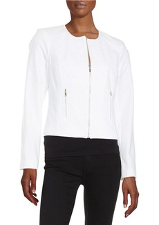 CALVIN KLEIN Embroidered Panel Jacket
