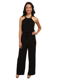 Calvin Klein Halter Neck with Chain Jumpsuit CD5A1C4T