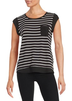 CALVIN KLEIN High-Contrast Block Top