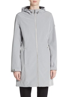 Calvin Klein Hooded Zip-Front Jacket