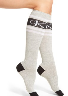 Calvin Klein 'Icon Logo' Knee High Socks