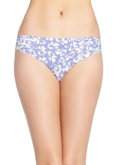 Calvin Klein 'Invisibles' Print Thong (3 for $30)